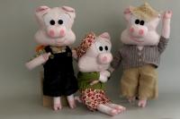 Кукли Трите Прасенца